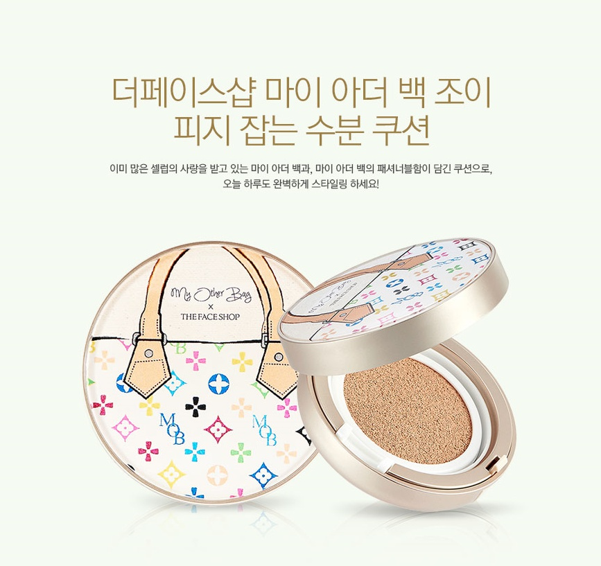 96bf8c272398 THE FACE SHOP CC Cushion (2016 My Other Bag collaboration) 15g ...