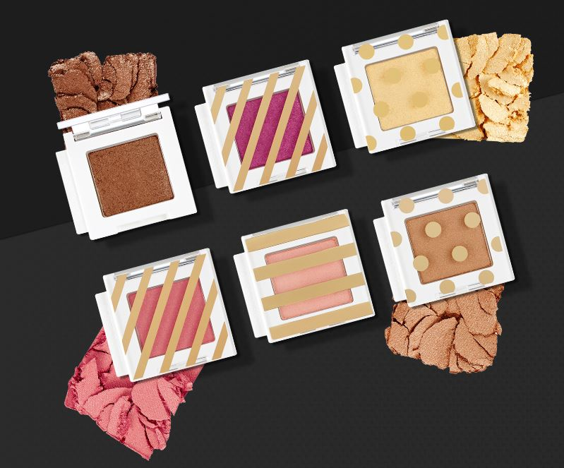 THE FACE SHOP Holiday Mono Cube Shadow (Sparkle)