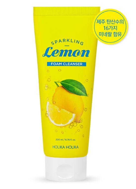 HOLIKAHOLIKA Sparkling Lemon Foam Cleanser 200ml