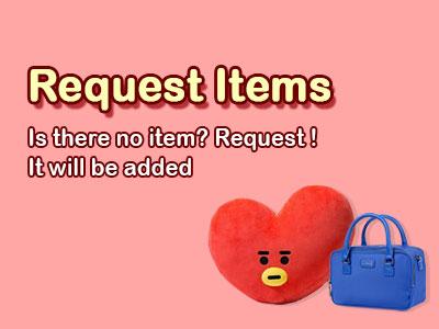 Request Item 리퀘스트아이템
