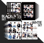 [W] EXO Goods White&Black Set (Polaroid+Sticker+Postcard)