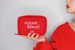 STYLENANDA 3CE Maison Kitsune Pouch #Red