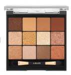 [R] ABLACK Glam Change Multi Palette #1 Caramel Brown 14.4g