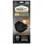 [R] BLUNA Face Fit Mask KF94 #Black 30ea