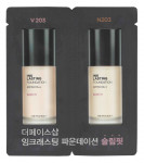 [S] THE FACE SHOP Ink Lasting Foundation Slim Fit SPF30 PA++ (1ml+1ml)*10ea