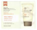 [S] THE FACE SHOP Natural Sun Eco Anti-Pollution Sun Cream SPF50+ PA+++ 1.5ml*10ea