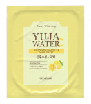 [S] SKINFOOD Yuja Water Whitening Ampoule Mask Sheet 20ml