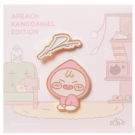 [R] KAKAO FRIENDS K.Daniel Edition Pin Badge Set(2p) 1set