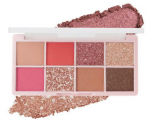 [R] COLOR GRAM TOK Hit Pan Eye Palette Pink Rush Edition 1set