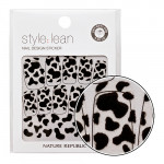 NATURE REPUBLIC Style Lean Nail Design Sticker #06 Black Cow 10strips