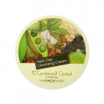 THE FACE SHOP Herb Day Cleansing Cream - 5 Grains Cereal 150ml