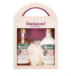 MISSHA Oatmeal Enriched Body Set 300ml + 300ml +ball 1ea
