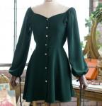 [R] MILK COCOA Ravenna dress/black