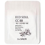 [S] The Saem Eco Soul CC BB SPF35/PA++ 1ml*10ea