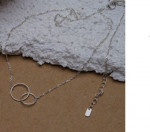 [R] VENENO Daily Silver Necklace