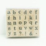 HAMPTONART Alphabet Stamp