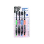 NANO Dental Care Toothbrush 4PSet [Charcoal]