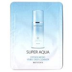 [S] Missha Super Aqua Oxygen Micro Visible Deep Cleanser 3ml*10ea