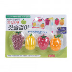 DAISO Fruit Toothbrush Hanger 4p-37708