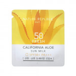 [S] Nature California aloe fresh sun milk SPF50+ PA+++ 1ml*10ea