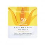 [S] Nature California aloe sun block daily moisture SPF50+ PA+++ 1ml*10ea