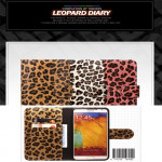[PHONE2JOY] Antique Leopard Diary Case