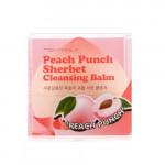 TONYMOLY Peach Punch Sherbet Cleansing Balm 80g