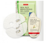 PUREDERM Real rice brightening gel mask