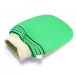 DAISO Natural Bath Glove Towel-18894