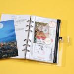 [W] 10X10 2018 Archive 365 Journal _PVC Zipper Bag