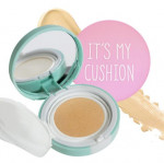 MEMEBOX It\'s My Cushion Pact D·I·Y (Case) Set 3 items (Only case+Puff+Refill Sponge)