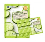 [Online Shop] FOOD A HOLIC 3D Natural Essence Mask [Cucumber] x10EA