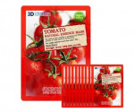 [Online Shop] FOOD A HOLIC 3D Natural Essence Mask [Tomato] x10EA