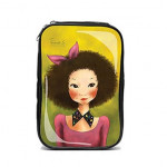 FASCY  Ppogeulppogeu Tina Beuaty enamel Pouch (Pink)
