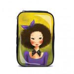 FASCY Ppogeulppogeul Tina Beuaty enamel Pouch (Violet)