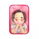 FASCY Balloon Tina Beauty Enamel Pouch (Hot pink)