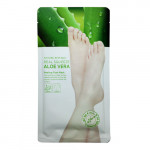 NATURE REPUBLIC REAL SQUEEZE ALOE VERA Peeling foot mask 50g (1 pair)