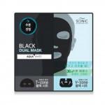 SCINIC Black Dual Mask [AQUA WHITE]