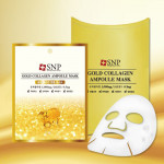 [SALE] SNP Gold Collagen Ampoule Mask 25ml*10ea