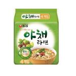 [R] NONGSHIM Soon Veggie ramen soup 100g*4ea
