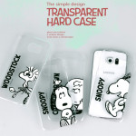[PHONEART] Snoopy Friends Clear Hard Case