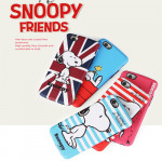 [PHONEART] Snoopy Friends Dual Bumper Case