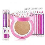 [L] HERA UV Mist Cushion & Lip Stick Olympia Le-Tan Pink Set