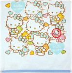Hello Kitty Face Towel Cotton 100%
