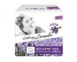 [SN] LILIAN Panty Liner Super Long Size 20P (lavender)