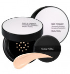 HOLIKAHOLIKA Face 2 Change Volume Fit Strobing Pumping Foundation SPF50+ PA+++ 15g (+Refill 1ea)