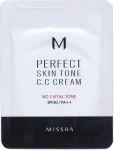 [S] MISSHA M Perfect Skin Tone C.C Cream SPF30 PA++ No.1 Vital Tone 1.5ml*10ea