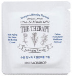 [S] The Face Shop The Therapy Anti-Aging No Shine Hydrating Cream 1ml*10ea