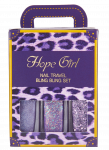 HOPEGIRL Nail Travel Bling Bling Set [4g*3ea]  (Option 08.Violet Candy)
