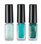 HOPEGIRL Nail Travel Bling Bling Set [4g*3ea]  (Option 02.Sugar Mint)
